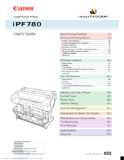 Canon imageprograf ipf680 User Manual