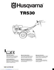 Husqvarna TR530 Manuals