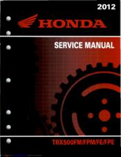 2018 honda foreman 500 owners manual