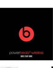 beats powerbeats2 wireless manuals rh manualslib com beats studio 3 wireless user guide beats solo 3 wireless user guide