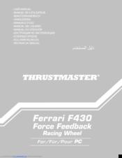 thrustmaster ferrari f430 manuals rh manualslib com thrustmaster ferrari f430 force feedback manual thrustmaster ferrari f430 user manual