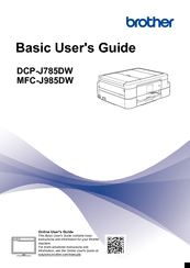 Brother DCP-J785DW Basic User's Manual
