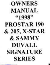 Mastercraft Prostar 205 Manuals. Manuals And User Guides For Mastercraft Prostar 205 We Have 6 Available Free Pdf Download Owner's Manual. Wiring. 1999 Mastercraft Boat Wiring Diagram At Scoala.co