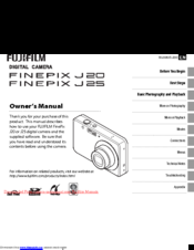 fujifilm finepix a235 manuals rh manualslib com DSC 1555MX User Manual Fujifilm USB Cable
