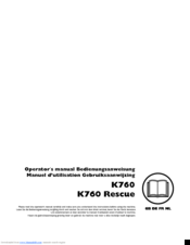 Husqvarna Cut-n-Break K 760 Operator's Manual