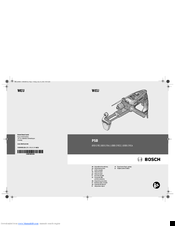Bosch 1000-2 RCA Original Instructions Manual