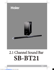 Haier SB-BT21 User Manual