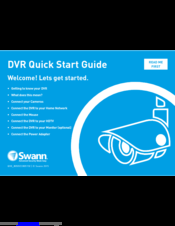 Swann SWDVK-880758-CL Manuals