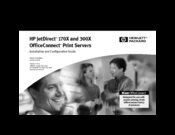 HP 170X - JetDirect Print Server Installation And Configuration Manual
