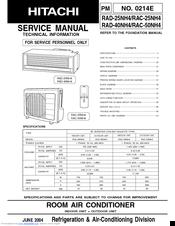 HITACHI RAD-25NH4 SERVICE MANUAL Pdf Download