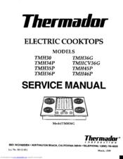 thermador tmh36g manuals rh manualslib com thermador gas range service manual thermador refrigerator service manual
