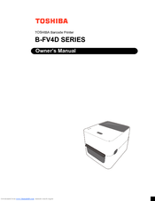 Toshiba B-FV4D SERIES Owner's Manual