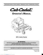 cub cadet rzt l manuals rh manualslib com cub cadet rzt 50 parts manual pdf cub cadet rzt 50 parts manual pdf