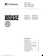 fuji electric rda36lctu service manual pdf download