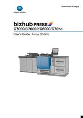 KONICA MINOLTA BIZHUB PRESS C7000 USER MANUAL Pdf Download