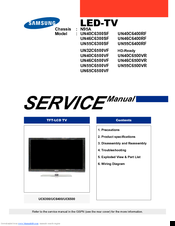 Samsung UN46C6500VF Service Manual