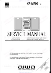 aiwa xr m700 manuals rh manualslib com
