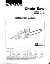 Makita 5014B Instruction Manual