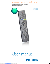 Philips SRP5018 User Manual