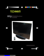 Technika LCD32-407B User Manual