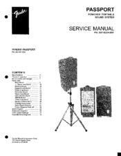 fender passport manuals rh manualslib com fender passport 150 pro user manual Fender Passport PA System