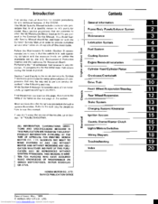 Honda 1989 Elite CH250 Service Manual