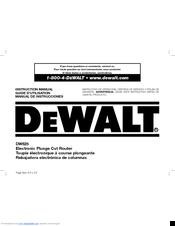 dewalt dw625 manuals rh manualslib com