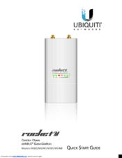 UBIQUITI ROCKET M900 QUICK START MANUAL Pdf Download