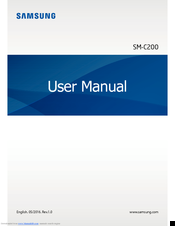 Samsung SM-C200 Gear 360 User Manual