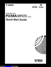 canon pixma mp470 manuals rh manualslib com Canon PIXMA MX310 canon pixma mp480 manual
