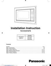 Panasonic TK510FW Manuals