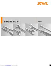 Stihl MS 391 Manuals