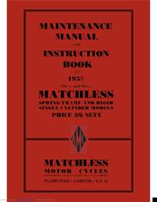 Matchless G80cs Manuals Manualslib