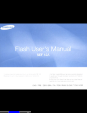 Samsung SEF 42A User Manual