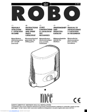 Nice RO 1040 Manuals