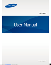 Samsung SM-T310 User Manual