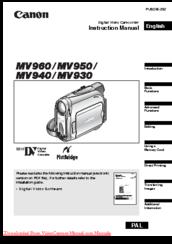 Canon MV940 Manuals