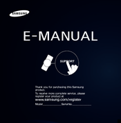 Samsung UA40ES7 E-manual