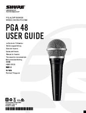 shure pga 48 manuals rh manualslib com shure slx4 user guide shure slx4 user guide