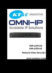 KT&C KNR-p32Px16 NVR Update