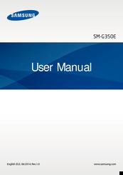 Samsung sm-g350e manuals.