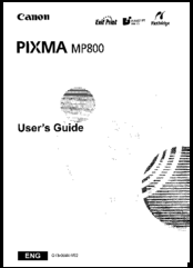 canon pixma mp800 manuals rh manualslib com canon pixma mp800 service manual pdf canon pixma mp800 service manual