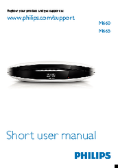 Philips M660 Short User Manual