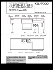 Kenwood DPF-J7010 Service Manual