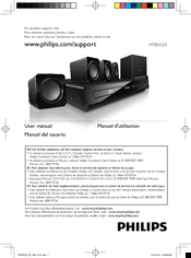 Philips HTB3524 User Manual