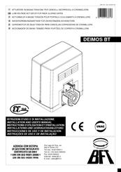 bft deimos manual pdf