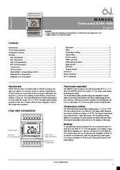 OJ ELECTRONIC ETN4-1999 ALL-IN-ONE THERMOSTAT 19.5-70 DEG C