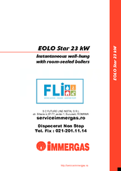 Immergas eolo star 23 kw manuals for Caldaia immergas eolo star 23 kw
