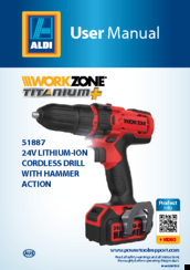 Workzone Titanium+ 51887 Manuals