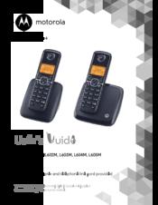 Motorola D401i Cordless Telephone User Manual